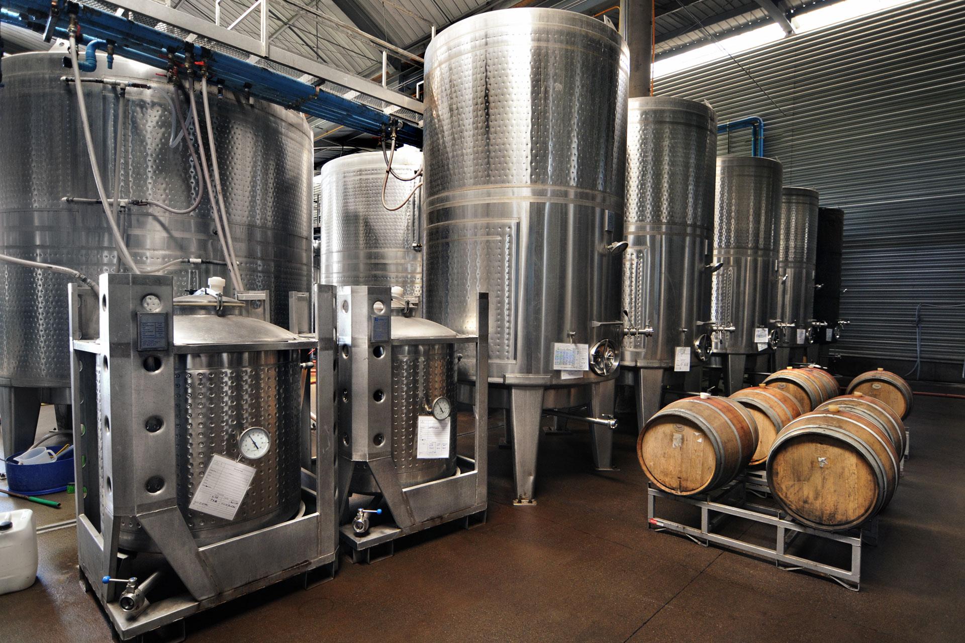 distillers and barrels