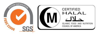 2016: FSSC 22000 (Food Safety System Certification)